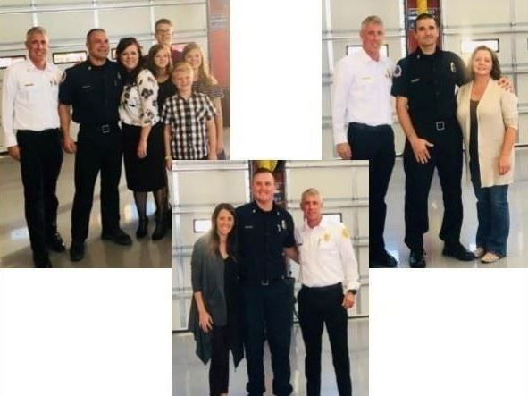 pics - new firefighters