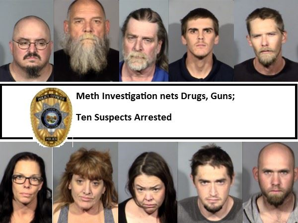 TEN SUSPECTS