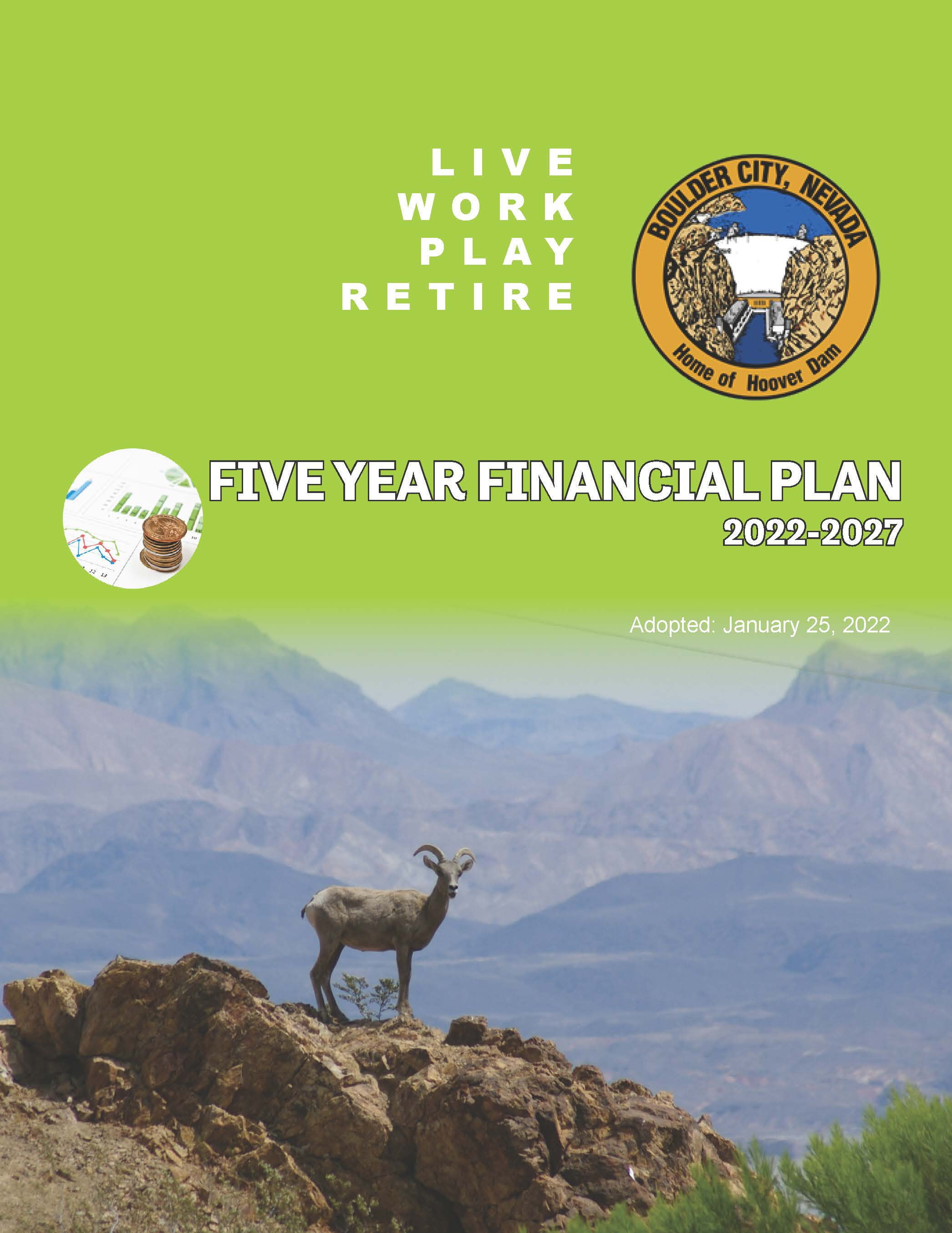 Pages from Financial Plan for 2020 - 2025 - cover