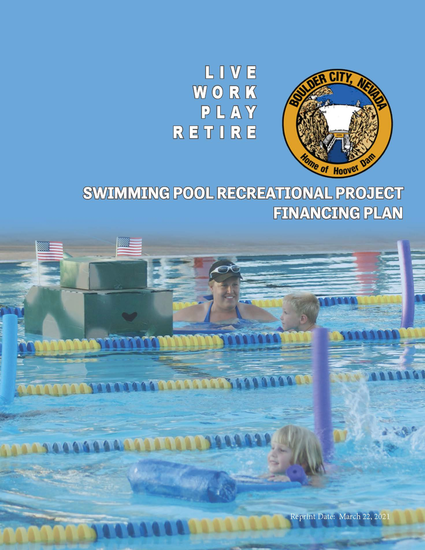 Swimming Pool Recreational Project Financing Plan