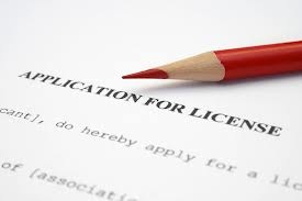 application for license